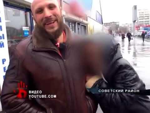 4.05.2018г Новости Челябинска. Привокзальная цыганка избила тростью общественников
