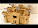 Como hacer un castillo de cartón paso a paso CASTILLO BODIAM cardboard castle