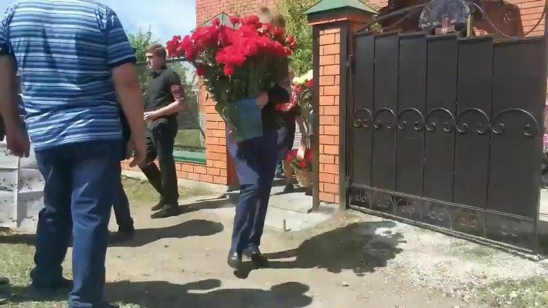 В Мордовии простились с погибшим в авиакатастрофе в Шереметьево