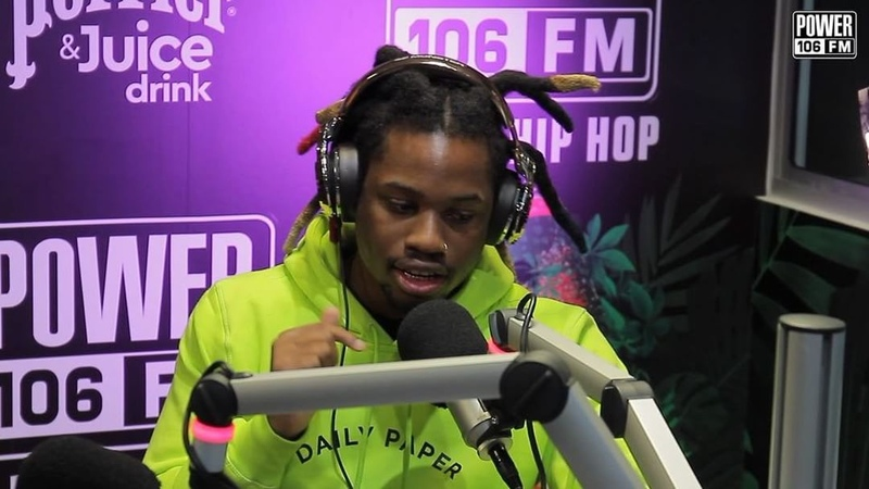 "Power 106 on Instagram: "" DenzelCurry came through ripped his @cruzshow106 'Breakfast Bars' Freestyle over Goodie Mob's ""Fighting"" beat 🔥🥊 • ..."