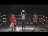 Naoki Tanizaki (c) vs. Fuminori Abe (BASARA - Fighting Beer Garden 2018 ~ BASARA Day)