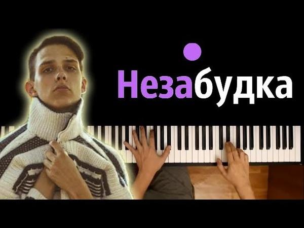 Тима Белорусских - Незабудка ● караоке   PIANO_KARAOKE ● НОТЫ MIDI