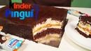 Гигантский Киндер Пингви карамель | Kinder Pingui caramel