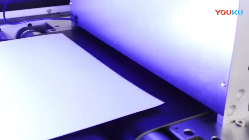 UV coater with cold foil stamping