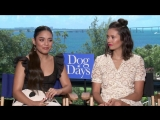 DOG DAYS- Interview with Nina Dobrev and Vanessa Hudgens and their love for dogs!
