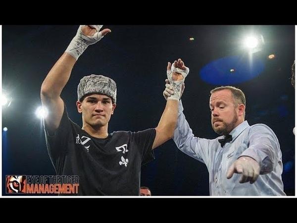 Артур Зиятдинов выиграл свой 7-й профессиональный бой в Канаде