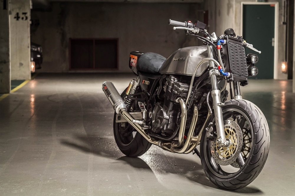 Banb Motorcycles: кастом Zumax на базе Suzuki GSX750 Inazuma