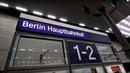 Treinen op Berlin Hauptbahnhof Tief