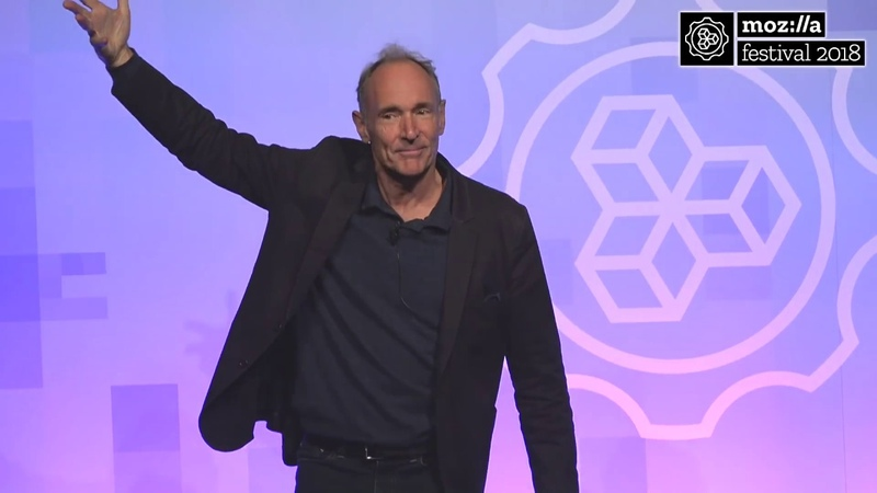Tim Berners-Lee on His Latest Work | MozFest 2018