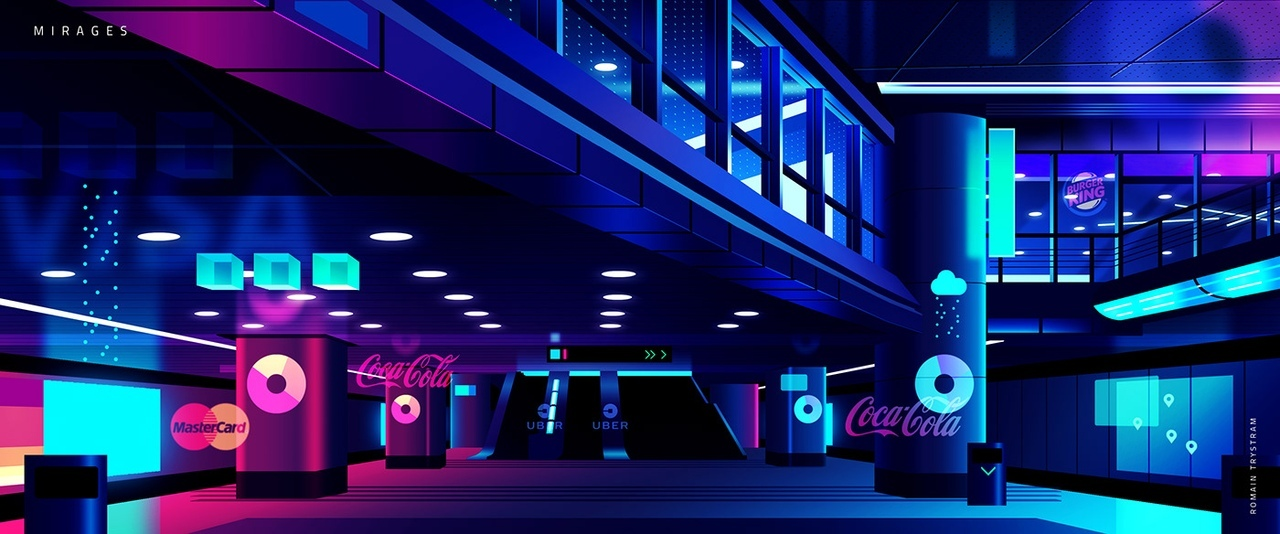 These Illustrations Could be our Cities in the Future