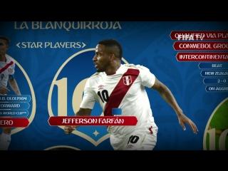 Представление команды: Перу