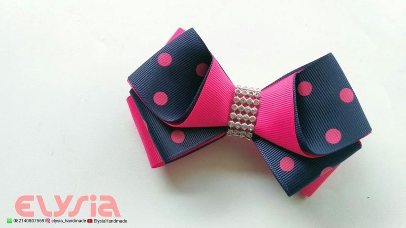 Laço Maureen Grosgrain Ribbon — Ribbon Bow — DIY by Elysia Handmade