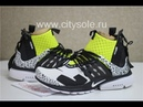 PK God ACRONYM x NikeLab Air Presto Mid Racer White Black Dynamic Yellow Ready from