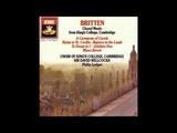 King's College Choir -- Rejoice in the Lamb (Britten) Part 2