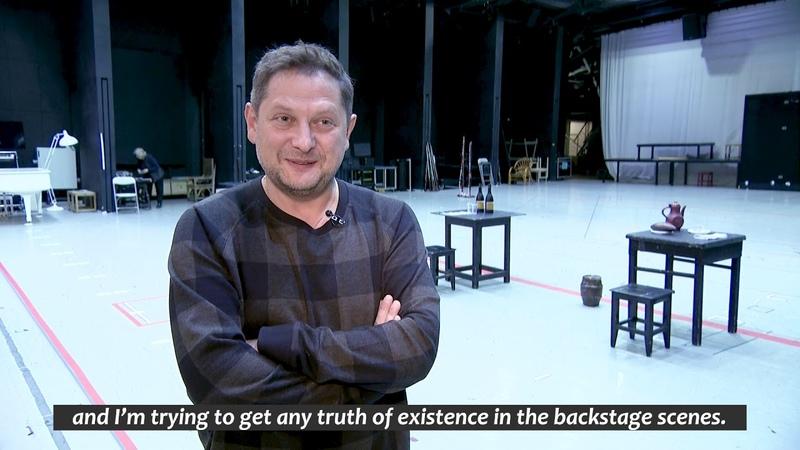 Опера «Севильский цирюльник» (репетиции)«Il Barbiere di Siviglia» opera (rehearsals)