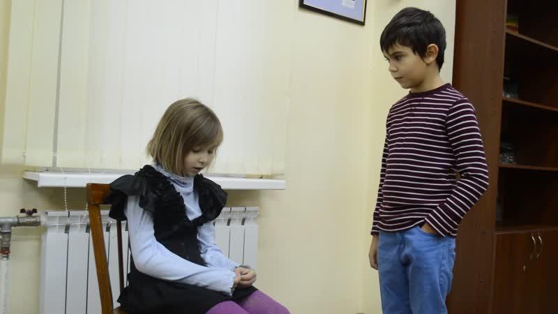 Актерский этюд. Беата и Даня