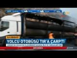 В Турции автобус врезался в фуру: 9 погибших, 16 раненых – ВИДЕО
