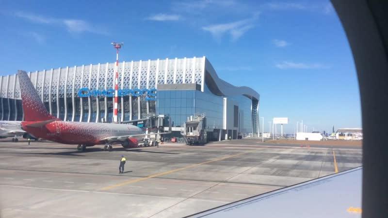 Новый аэропорт Крыма