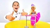 Мультфильм Барби балерина. Платье для Челси. Видео для девочек