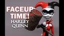 Faceup Time! Harley Quinn Monster High OOAK Custom Doll