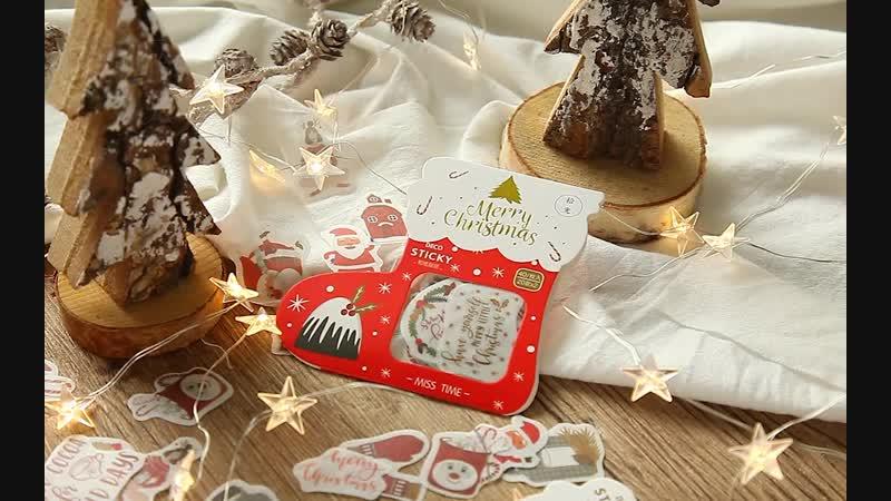 Very very nice ! Merry Christmas sticker for scrapbook /Photo album /diary