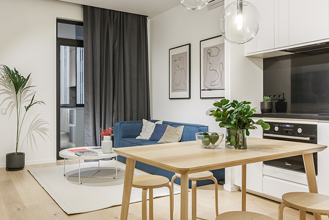 Бюджетная квартира площадью 45 кв.