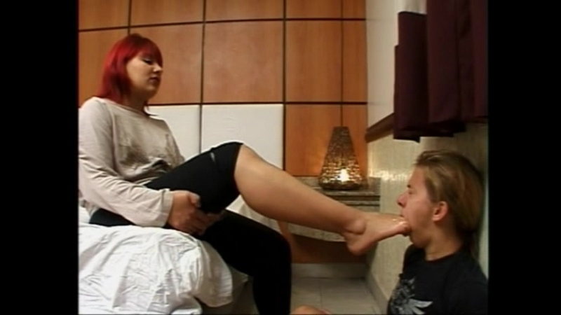 Female Foot Gagging