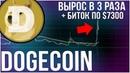 Биткоин вновь по $7000 Dogecoin вырос в 3 раза Обзор NEO ETH