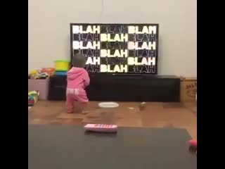 Baby girl rave