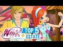 Winx Club - TOP 5 Momenti Estivi (tutte le serie)