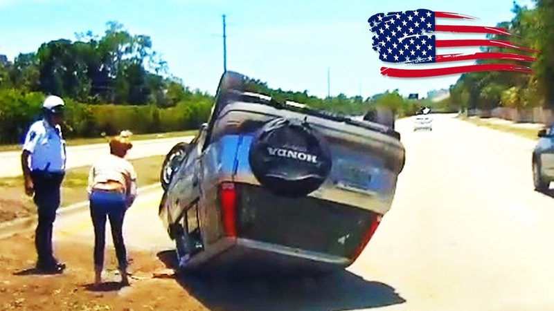 CAR CRASHES IN AMERICA 19 | BAD DRIVERS USA, CANADA | NORTH AMERICAN DRIVING FAILS