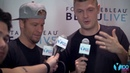 Backstreet Boys Talk Backstage at Fontainebleau Miami Beach with Y100!