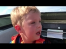 Israel Dillard wasnt very happy his first time on the lake