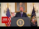 Trump Syria strikes to deter chemical weapons use BBC News
