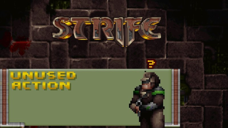 Strife - Quest For the Sigil - Unused Action (Push Wall)
