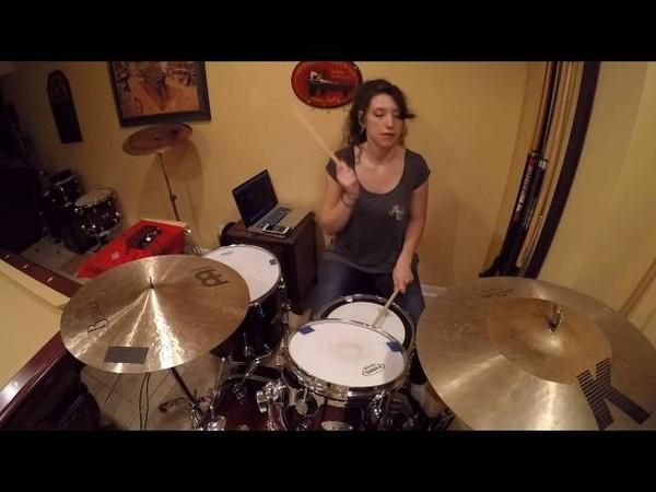Jessica Burdeaux - Ain't It Fun - Paramore - Drum Cover