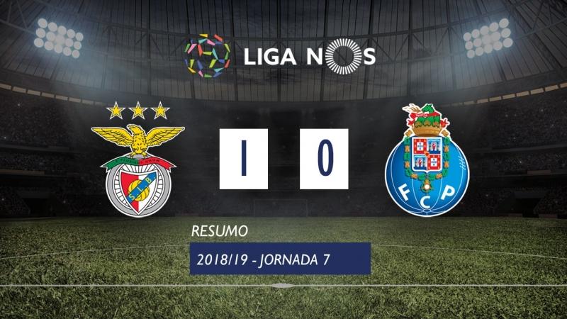Лига НОШ 2018/19 (Тур 7): Бенфика – Порту 1:0