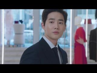 "Сухо и Ха Ён Су в новых тизерах дорамы ""Богатый мужчина"""
