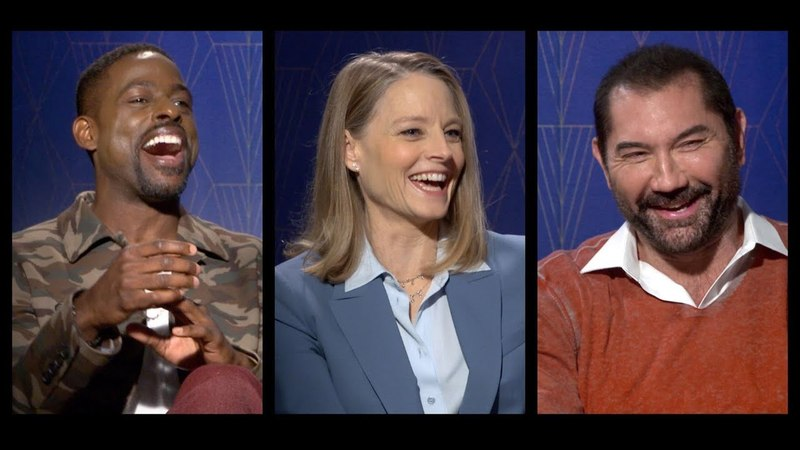 HOTEL ARTEMIS Interviews: Jodie Foster, Sterling K. Brown, Dave Bautista, Charlie Day more!