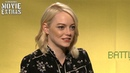 Battle Of The Sexes (2017) Emma Stone talks about her experience making the movie