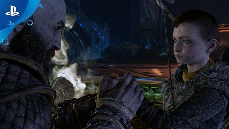 God of War - Sony отметила День отца новым эффектным трейлером эксклюзива PlayStation 4