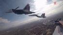 «Русские витязи» и «Стрижи» продемонстрировали высший пилотаж над Волгой