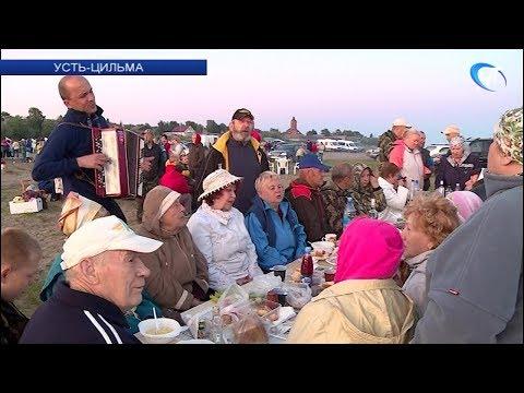 Автоэкспедиция «Земляки» приняла участие в народном празднике Петровщина в Усть-Цильме