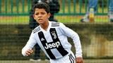 Cristiano Ronaldo JR. Football Plays Skills, Goals, Freekick &amp Tricks