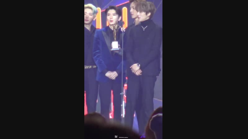 [VK][190115] MONSTA X fancam - Bonsang (Kihyun focus) @ 28th Seoul Music Awards