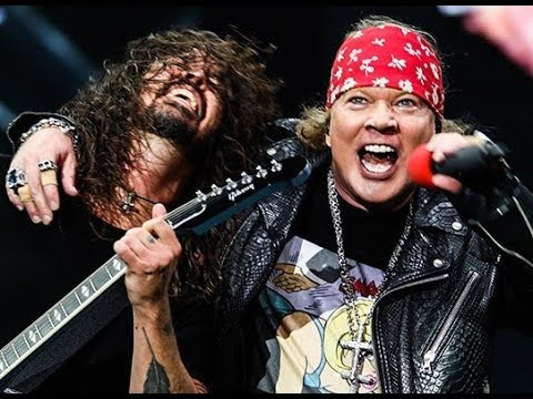 Foo Fighters Guns N' Roses - It's So Easy (Firenze Rocks Festival 2018)