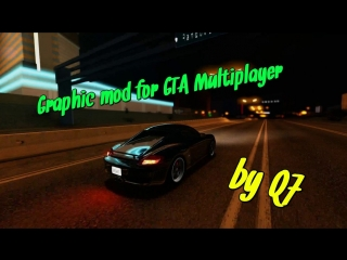 Graphic mod for GTA Multiplayer   Mercedes Benz  by Q7.dll