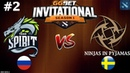 Spirit vs NIP 2 (BO3) | GG.Bet Dota 2 Invitational