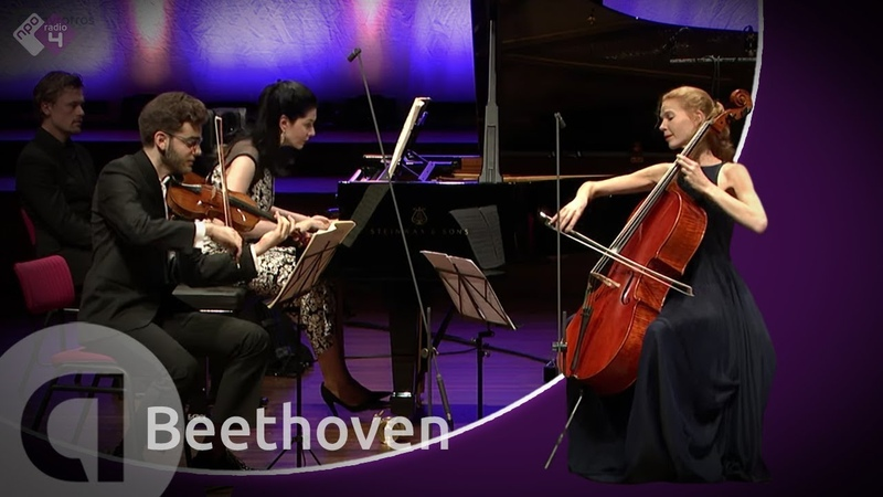 "Beethoven: Piano Trio in D major, ""Ghost"" - Harriet Krijgh Friends - Live HD"
