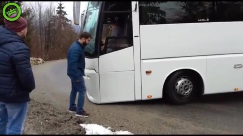 Тачка просто заниженного типа Сама едет в АД МГЛЫ или берегись автобуса
